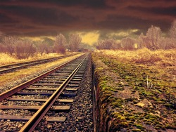 Railway Track Pakistan Outdoor photography
