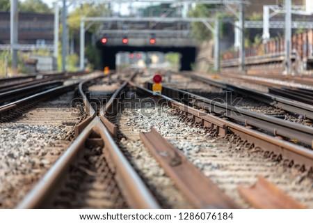 railway tracks uk