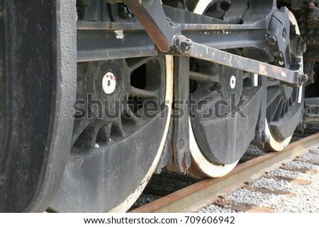 Railway Wheel  #709606942