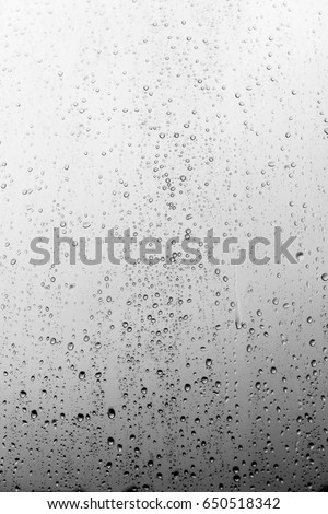 Rain drops on the glass, background #650518342