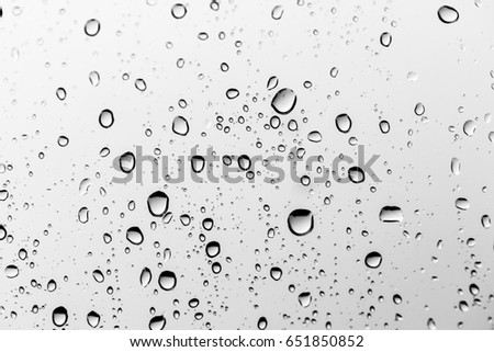 Rain drops on the glass, background #651850852