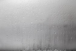 Rain drops on the window - real 135mm texture for designers to apply in the linear light regime
