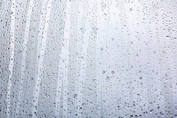 rain drops on window  background