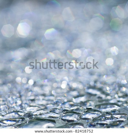 Rain drops - sparkling background