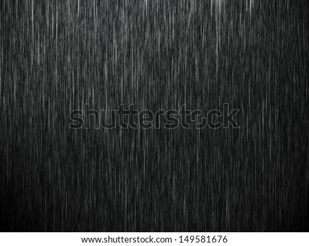 rain on black. abstract...