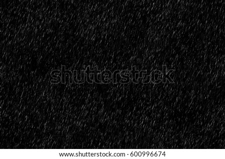 Rain on black. Rain texture. Abstract background