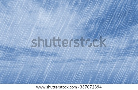 rain storm backgrounds in cloudy weather
