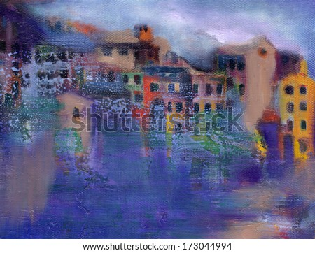 Rain, the House and the sea