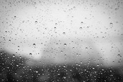 Rain Water drops background