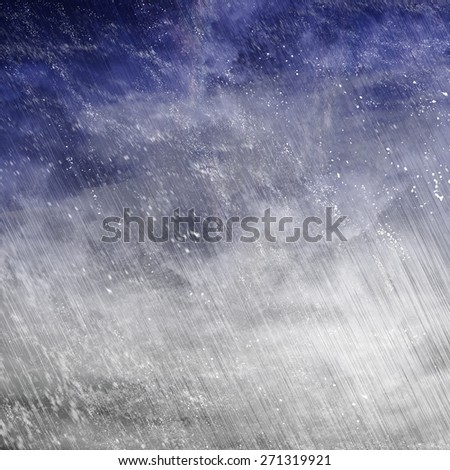 rain with snow background