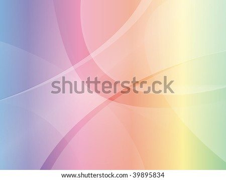 rainbow abstract mac style