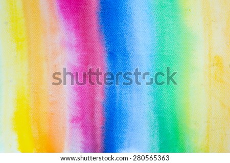 rainbow art watercolor painted background texture