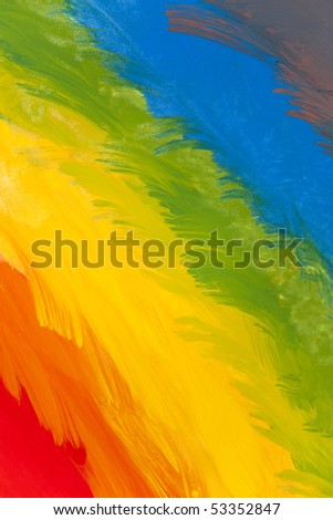 Rainbow colored background abstraction