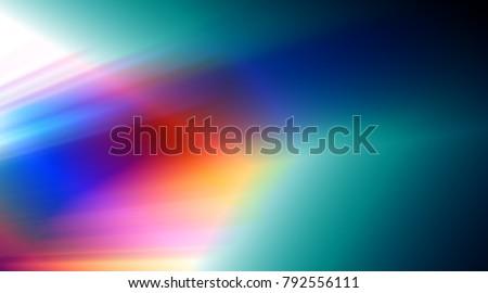 Rainbow distortion refraction  swirl leaks overlay background wallpaper