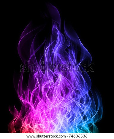 rainbow fire background - photo #24