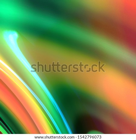 Rainbow fluoride background. Background with fluorescent colors. Dark background with fluorescent colors