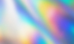 rainbow grainy gradient background texture. blurred multicolor design with the soft noise on top. colorful abstract art background for vintage trendy theme.