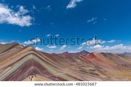 Rainbow Mountains, Cuzco, Peru