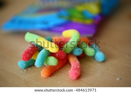 Coupons for rainbow worms