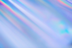 Rainbow prism light rays holographic disco background