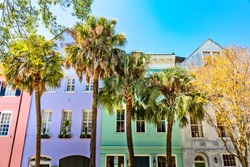 Rainbow Row, Charleston SC