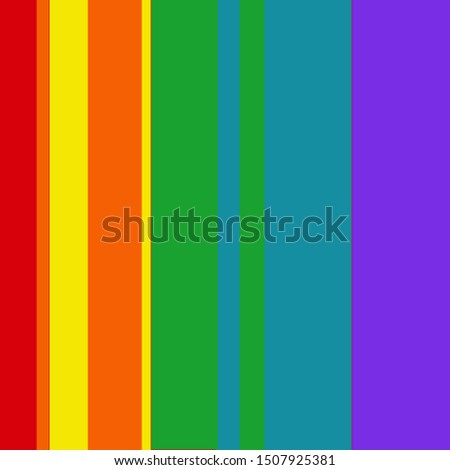 Rainbow stripe red orange yellow green blue purple striped stripes line lines background design pattern