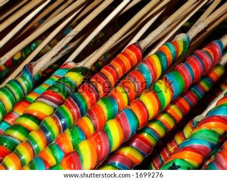 Rainbow suckers