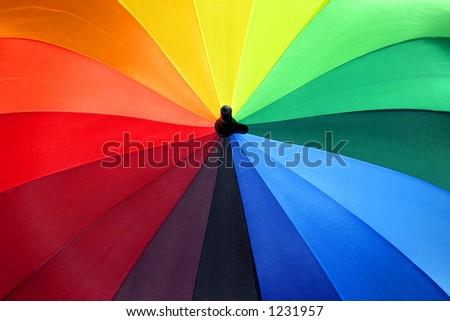 Rainbow Umbrella 1