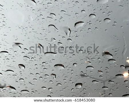 Raindrop background #618453080