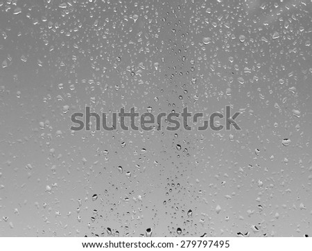 raindrops on the glass #279797495