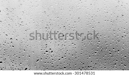 raindrops on the glass #301478531