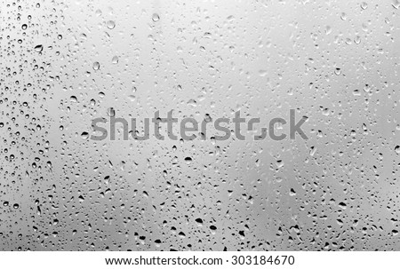 raindrops on the glass #303184670