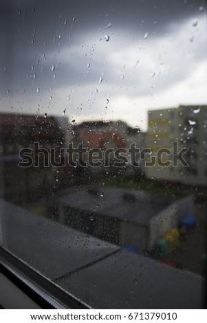 Rainy day Zdjęcia stock ©