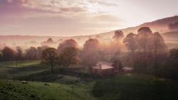 Rainy Morning in Nidderdale, North Yorkshire