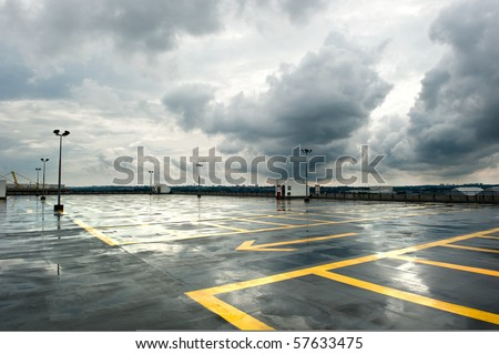 Rainy Parking