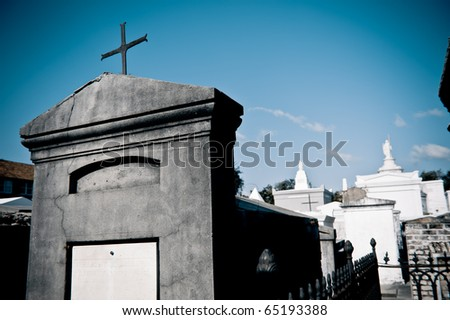 Raised Tombs at St. Louis Cemetery I