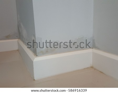 raising damp on concrete wall from underground water