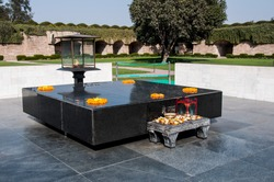 Raj Ghat is a memorial to Mahatma Gandhi. Close to it, and east of Daryaganj was �¢??Raj Ghat Gate�¢?�� of the walled city, opening at Raj Ghat on Yamuna River.