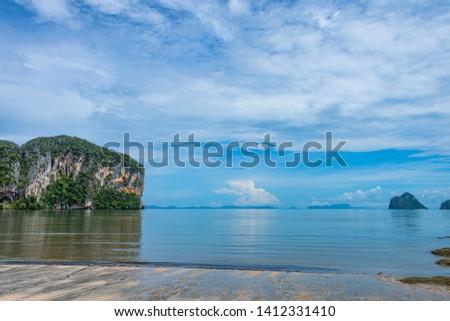 Rajamangala beach Trang , Thailand.