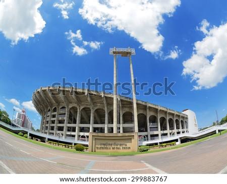 Rajamangala stadium  in Bangkok, Thailand.