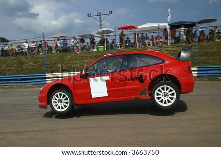 Citroen Xsara Wrc. Citroen Xsara WRC jumping