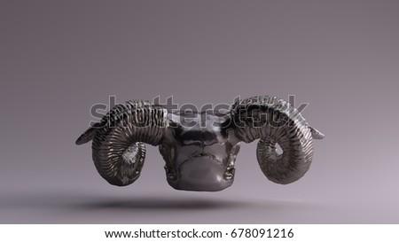 Ram Skull Stock photo ©