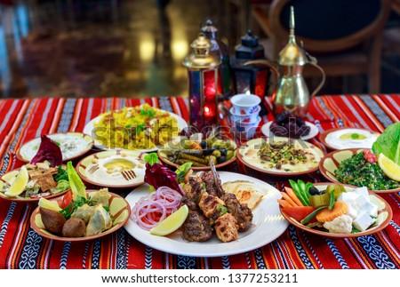 Ramadan Iftar Buffet #1377253211