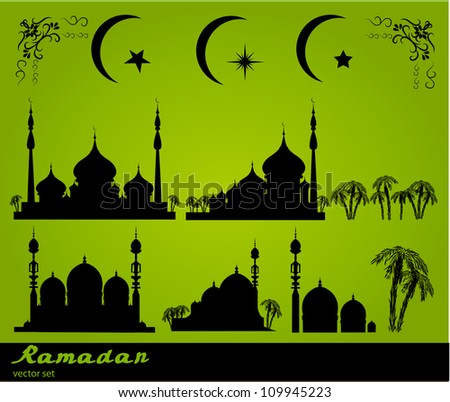 Ramadan illustration background