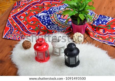 Ramadan Kareem with Islamic background, Ramadan lantern, Lamp photography #1091493500