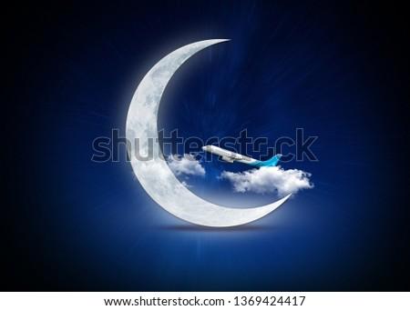 ramadan mubarek moon #1369424417