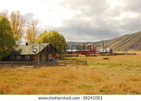ranch wyoming style