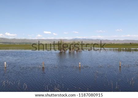 Ranchland near Bear Lake National Wildlife Refuge, Idaho