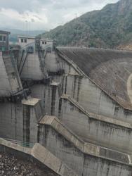 Randenigala dam in Sri Lanka Rantembe Power station water reservoir