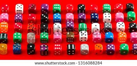 random numbers dice, dice #1316088284